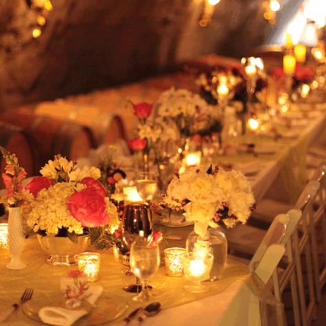 Saluti Cellars Weddings – Wine Cave